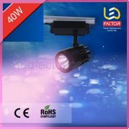 Светодиодная трековая лампа 40W розовый свет для мясной продукции