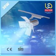 Светодиодная лампа 30W голубой свет для молока и морепродуктов