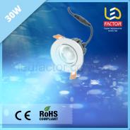 Светодиодная лампа 30W голубой свет для морепродуктов и молока