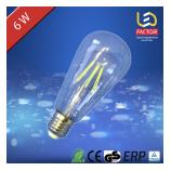 LED лампа LF ST64 E27 6 Clear