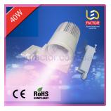 Светодиодная лампа 40W розовый свет для мясной продукции