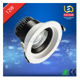 Торговое LED освещение, трековые светильники LED потолочный светильник 12W LF-001