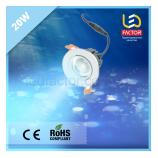 Светодиодная лампа 20W голубой свет для молока и морепродуктов