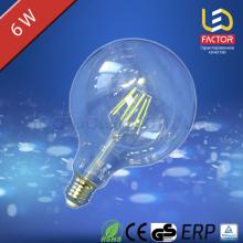 LED лампа LF G125 E27 6W Clear
