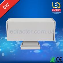 Фасадный двухсторонний квадратный светильник LF-BD 6(2)