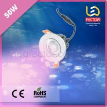 Светодиодная лампа 50W розовый свет для мясных изделий